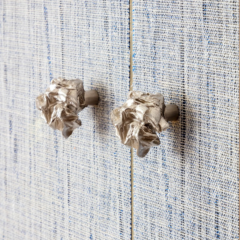 Furniture Knob in nickel by Victoria Maria for la Maison Vervloet